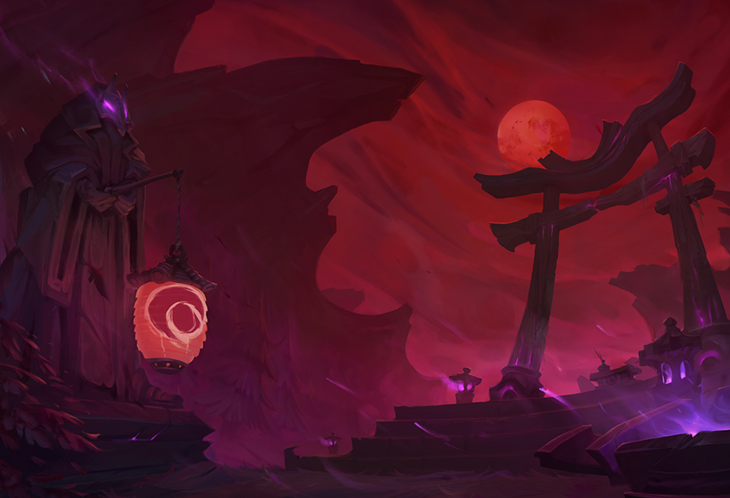 League of Legends Hunt of the Blood Moon