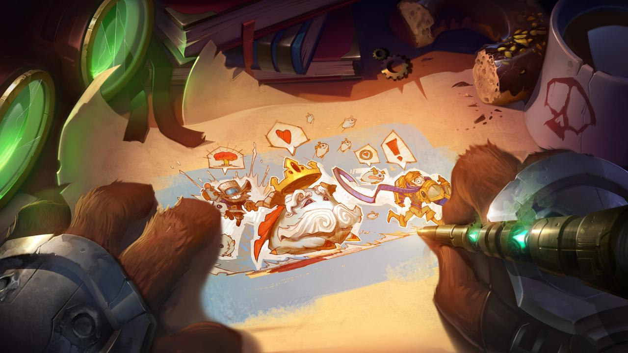 League of Legends Legend of the Poro King