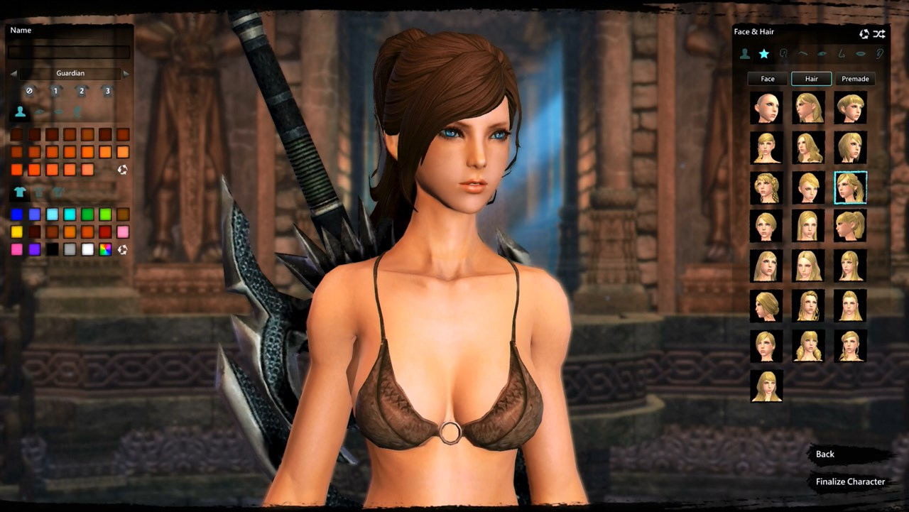 Sex games with character creation