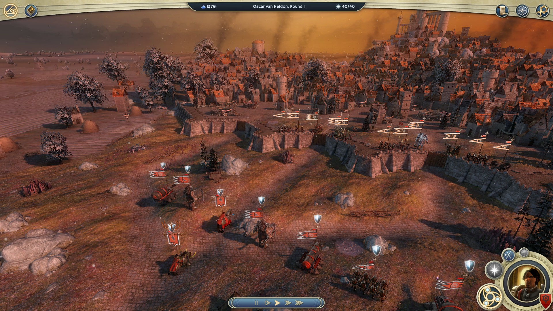 Age of Wonders 3 Combat Siege