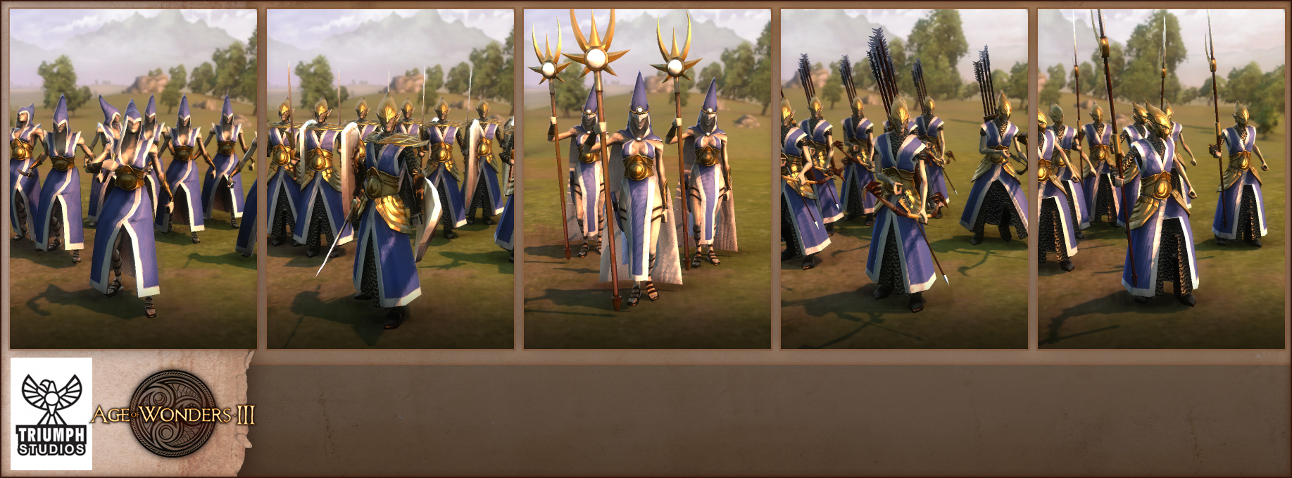 Age of Wonders 3 High Elves Units