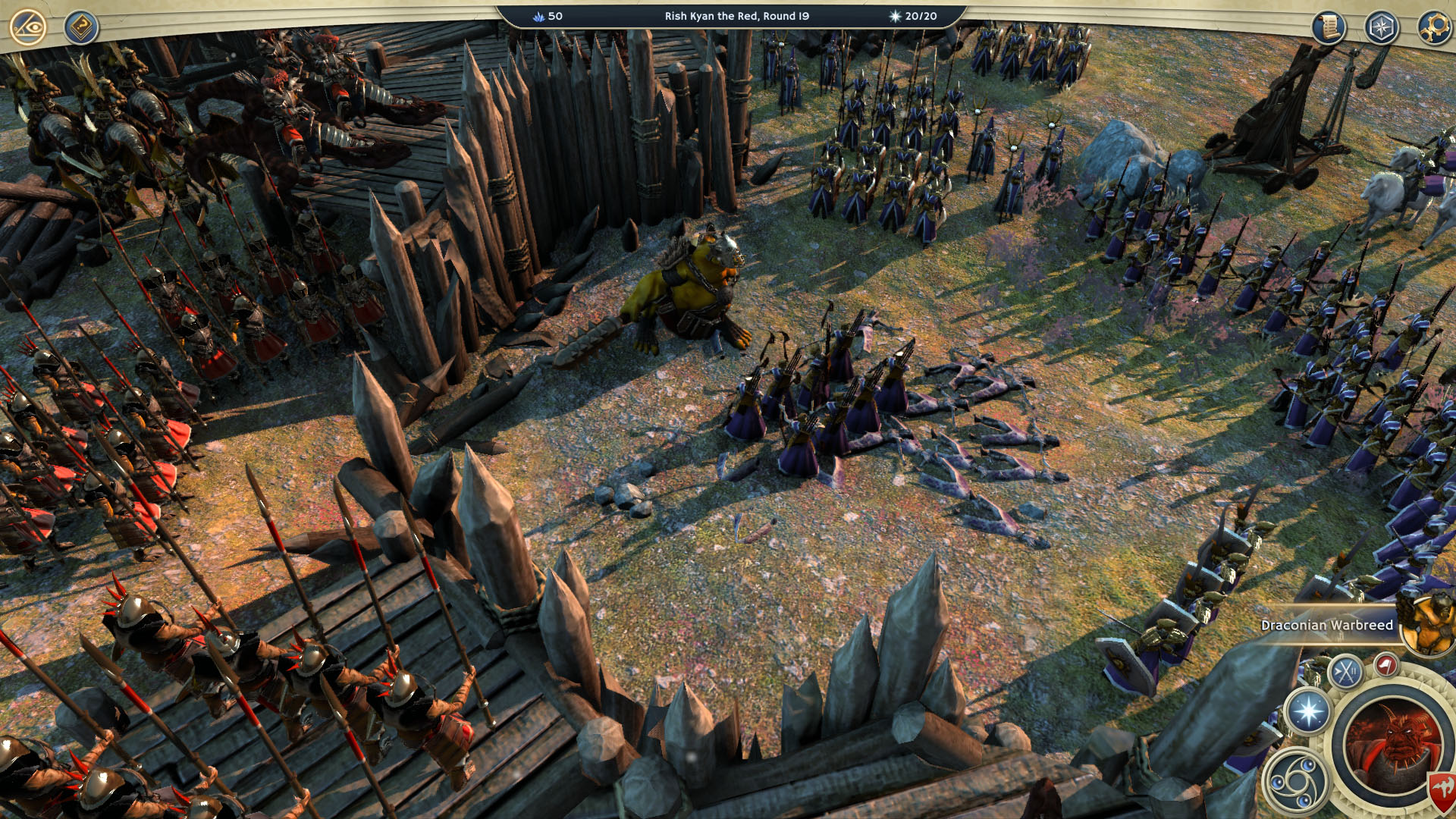 Age of Wonders 3 Warlord Fort Combat