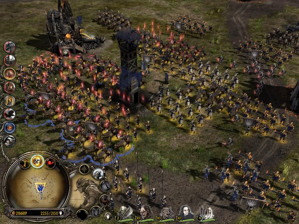 STRATEGY Singleplayer and Multiplayer BFME Battle for Middle-Earth