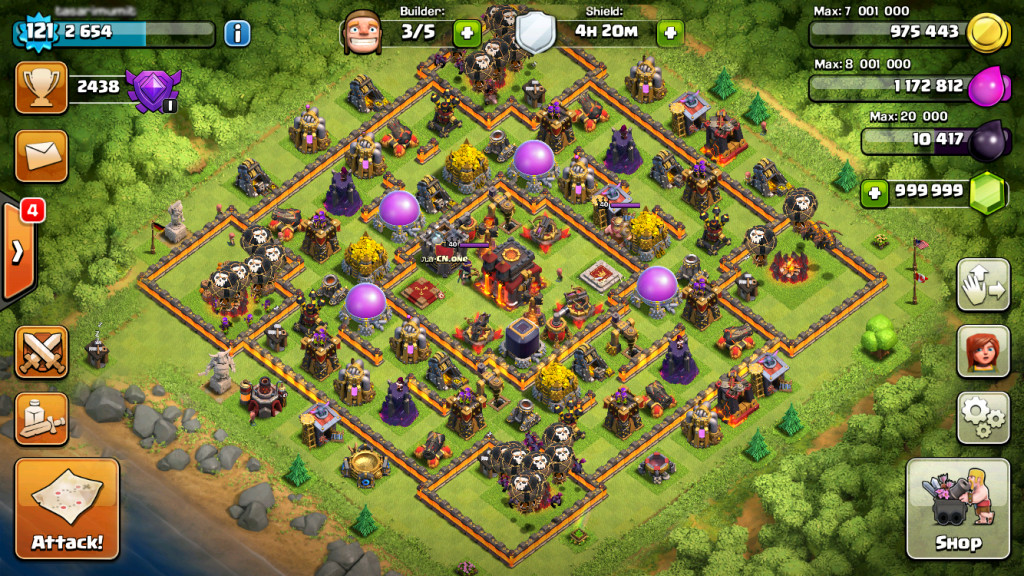 STRATEGY Singleplayer and Multiplayer Clash of Clans