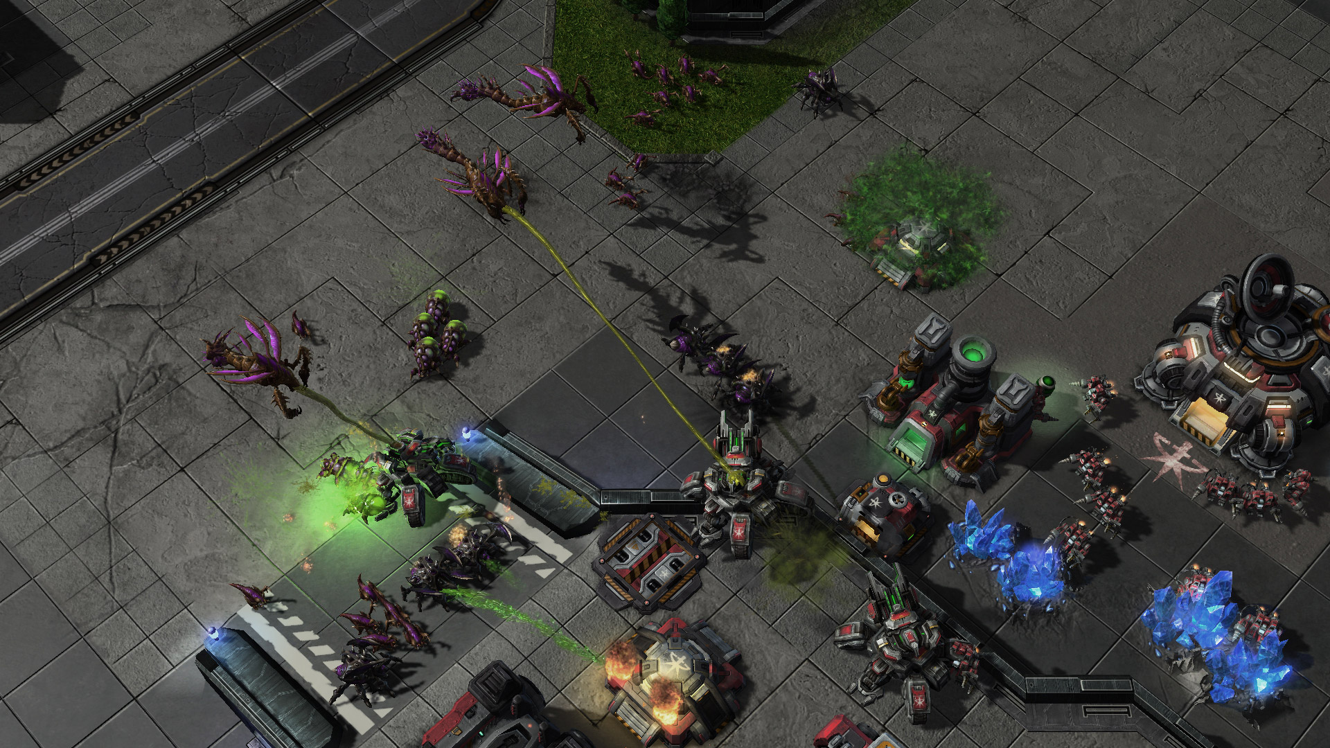 STRATEGY Starcraft 2 RTS Real-Time
