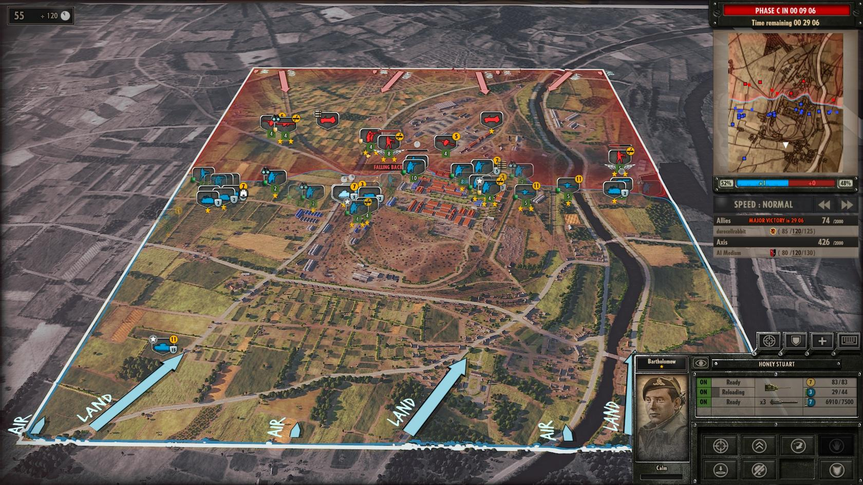 STRATEGY Steel Division Normandy 44 Map