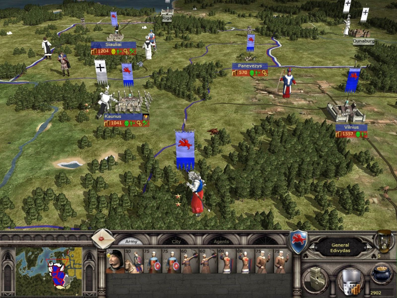 STRATEGY Units Medieval 2 Total War
