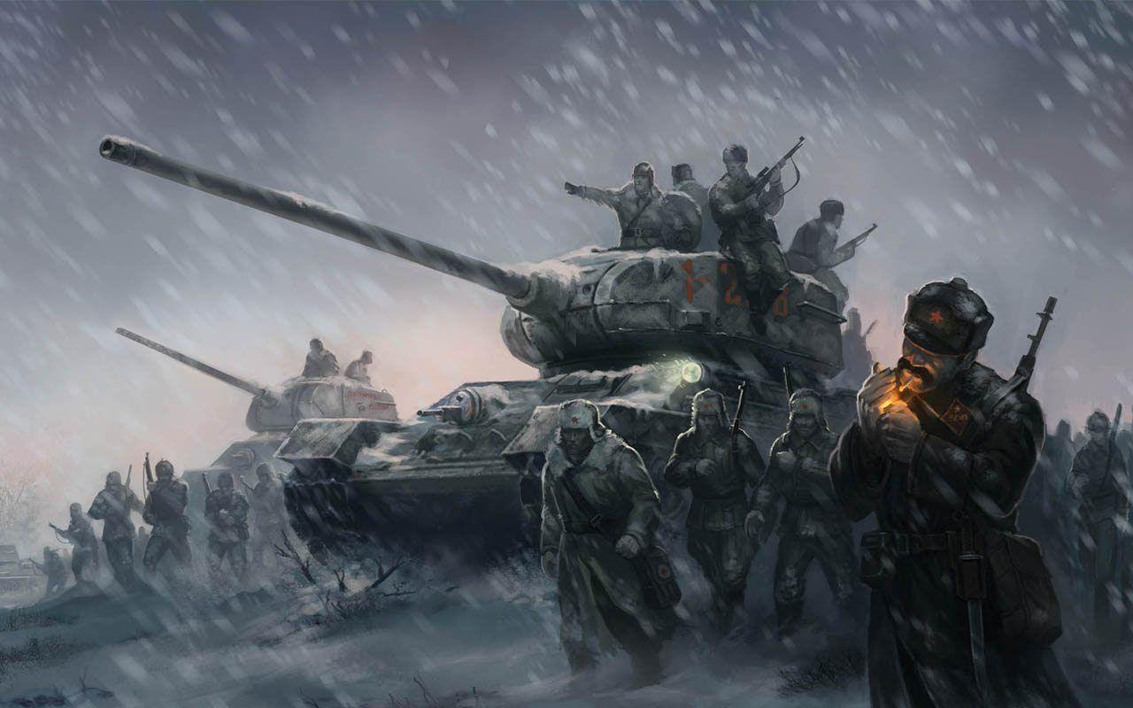 Company of Heroes 2 Wallpaper Snow Russia