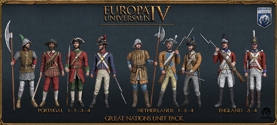Europa Universalis IV: Expansions and Mods – MotW1337