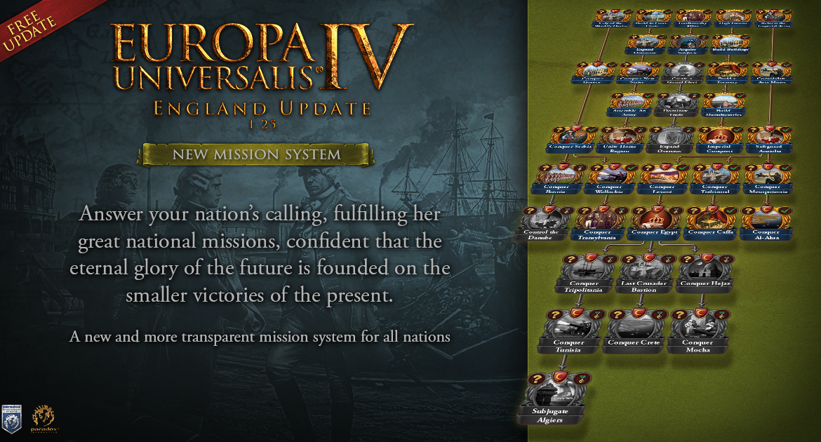europa universalis iv england update 1 25 and rule britannia dlc